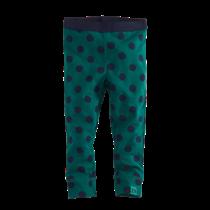 legging Nicola bottle green/navy/dots