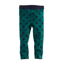legging Nicola bottle green/navy/dots