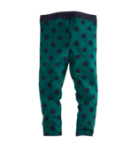 Z8 Z8 legging Nicola bottle green/navy/dots