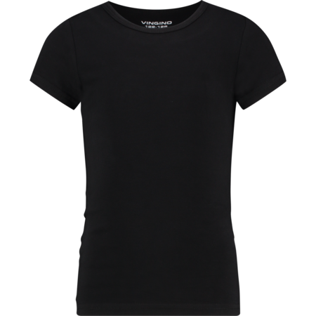 Vingino Vingino T-shirt ronde hals black (girls)