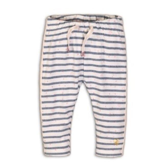 Dirkje broekje light blue melee stripe