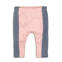 legging 3/4 light blue melee+light pink