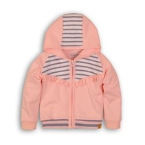 vestje light pink+light blue stripe