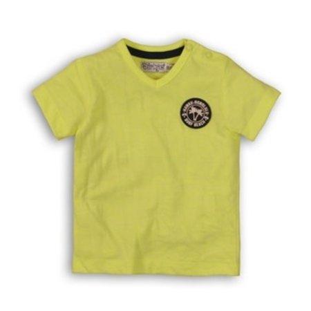 Dirkje Dirkje T-shirt neon yellow