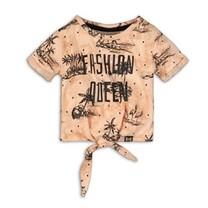 T-shirt blush+aop
