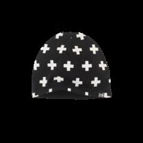 mutsje Cat n19 black/white/crosses