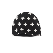 mutsje Cat n19 black/white/crosses