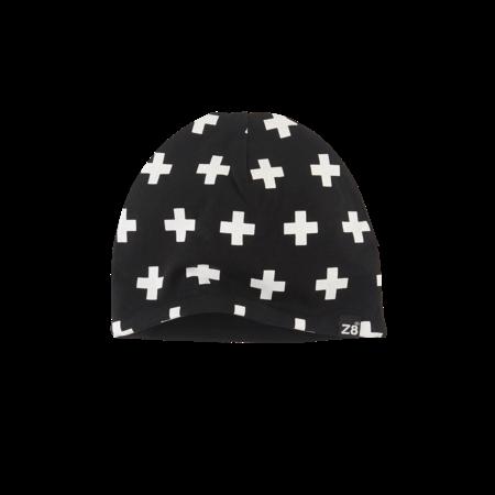 Z8 Z8 mutsje Cat n19 black/white/crosses