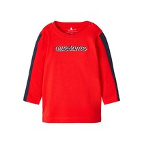 longsleeve Tipan high risk red