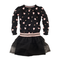 jurk Rosita black/hearts