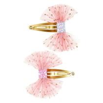 Souza haar knip Zeile strik roze
