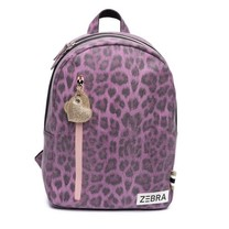 Zebra trends rugzak (m) Leo purple