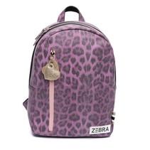 Zebra trends rugzak (m) Leo purple