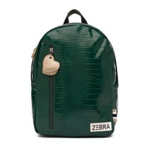 Zebra trends rugzak (m) Croco green