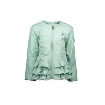 zomerjas short plain silk shade of jade