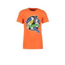 T-shirt football shocking orange