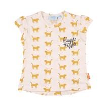 T-shirt aop offwhite - Kiss