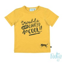 T-shirt trouble never looked geel - born to be wild