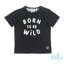 T-shirt antraciet - born to be wild