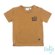 T-shirt wild one camel - born to be wild
