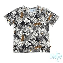 T-shirt aop offwhite - born to be wild