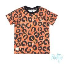 T-shirt aop oranje - Treasure Hunter
