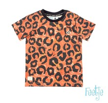 Feetje T-shirt aop oranje - Treasure Hunter