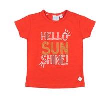 Feetje T-shirt hello sunshine rood - Funbird