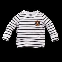longsleeve Stockholm black white stripe
