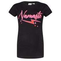 T-shirt namaste black