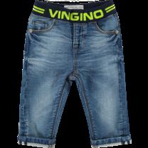 spijkerbroekje Bas blue vintage