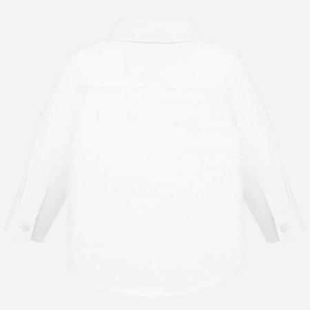 Mayoral Mayoral blouse basic linen white