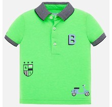 Mayoral polo serigraphs apple