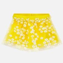 rok tulle yellow