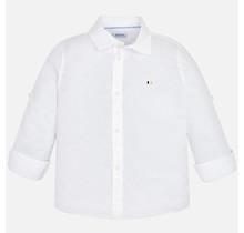 Mayoral blouse basic linen printed