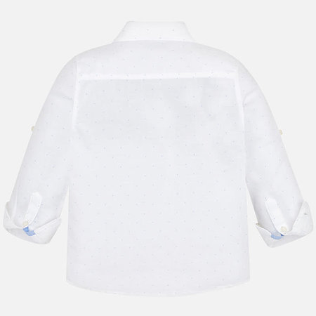 Mayoral Mayoral blouse basic linen printed