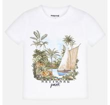 Mayoral T-shirt national park white