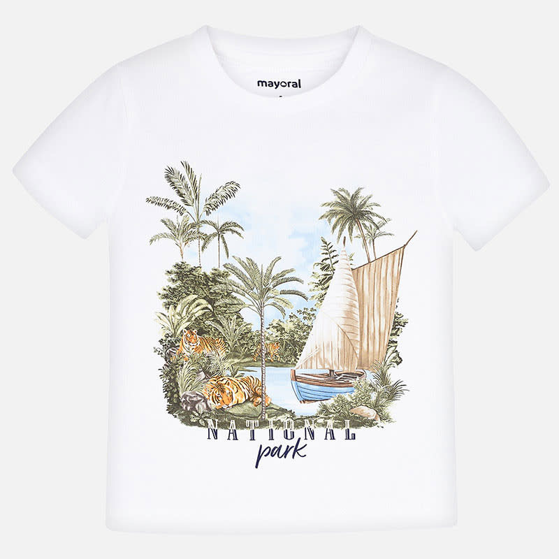 Mayoral Mayoral T-shirt national park white