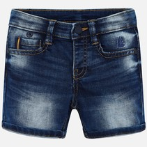 short basic soft denim