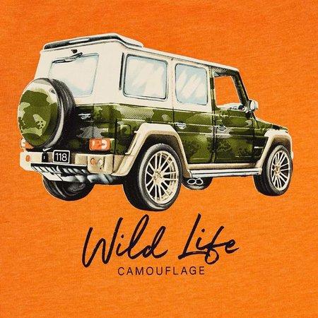 Mayoral Mayoral T-shirt vehicle orange