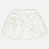 rok tulle flower natural