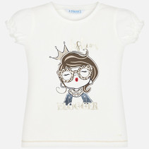 T-shirt doll natural