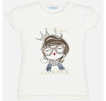 Mayoral T-shirt doll natural