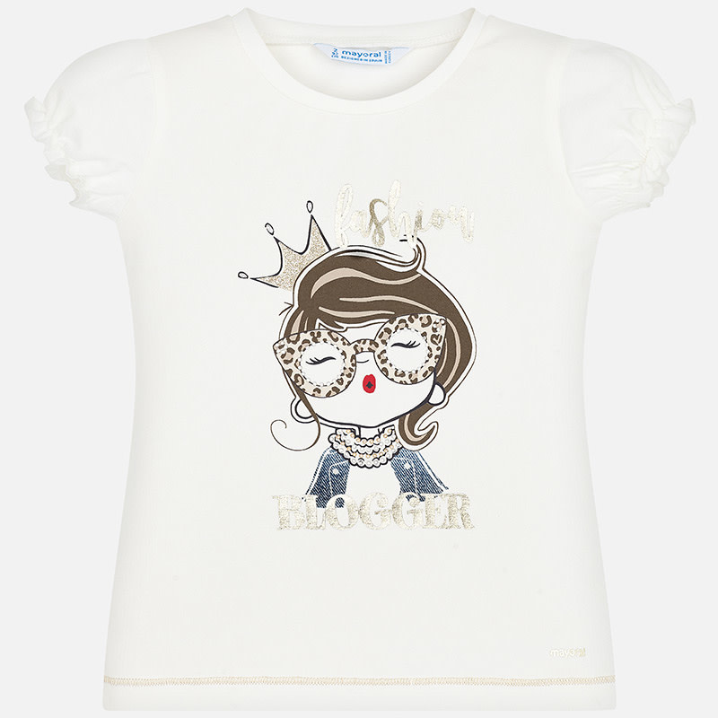Mayoral Mayoral T-shirt doll natural