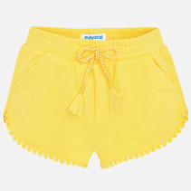 short chenille yellow