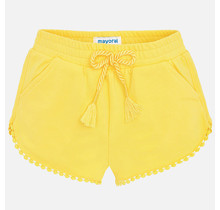 Mayoral short chenille yellow