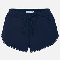 short chenille navy