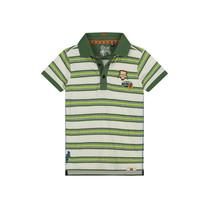 polo Alvin jungle green stripe