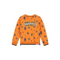 trui Andre manderin orange tiger