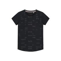 T-shirt Fake black